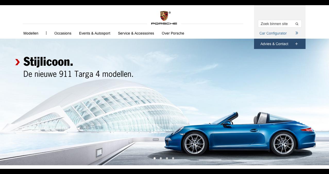 Home - Officiële Nederlandse Porsche Website - Dr. Ing. h.c. F. Porsche AG