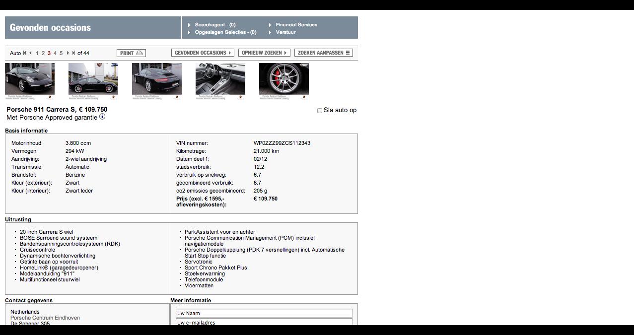 International Porsche Locator - Porsche.nl