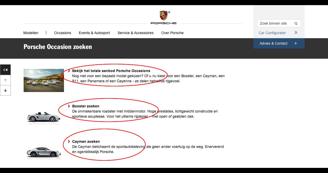 Porsche Occasion zoeken - Occasions - Officiële Nederlandse Porsche Website - Dr. Ing. h.c. F. Porsche AG
