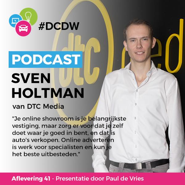 Sven Holtman DTC