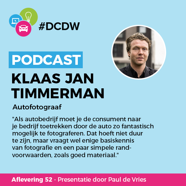 Klaas Jan Timmerman #DCDW Podcast