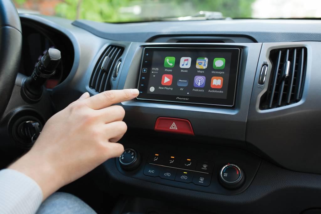Apple Carplay met siri