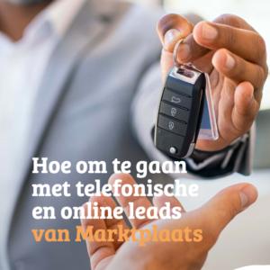 Hoe om te gaan met telefonische en online leads van Marktplaats