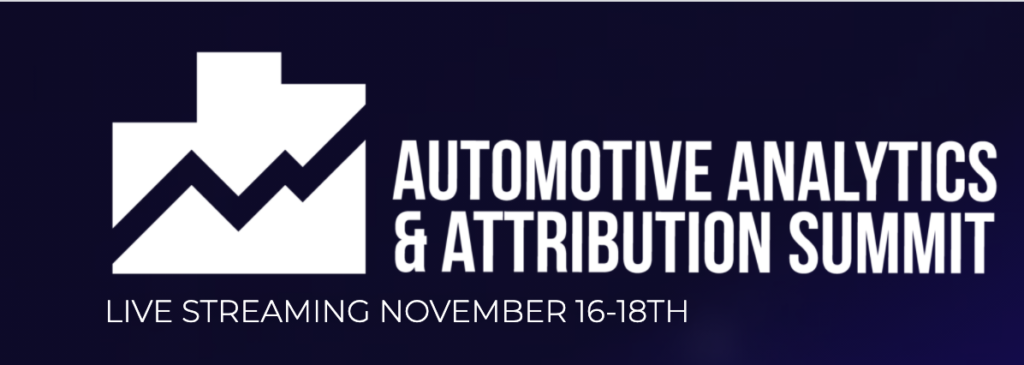 Automotive Analytics & Attribution Summit