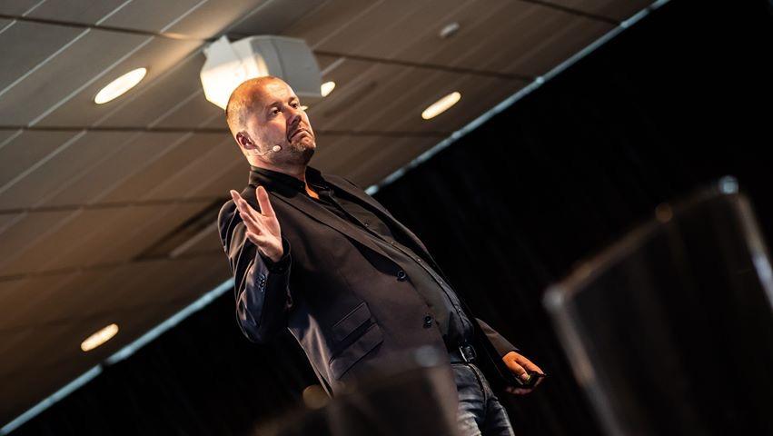 Paul bij Automotive Attribution And Analytics Summit
