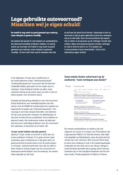E-book- Hornbach als voorbeeld voor autobedrijven!