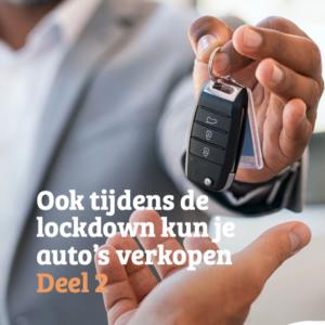 E-book: Ook tijdens de lockdown kun je auto's verkopen (Deel 2)