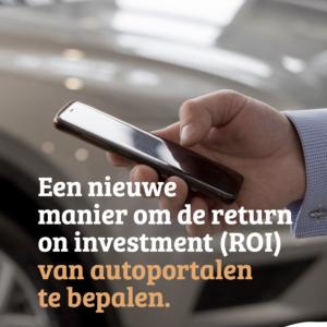 Nieuwe manier Return on investment berekenen